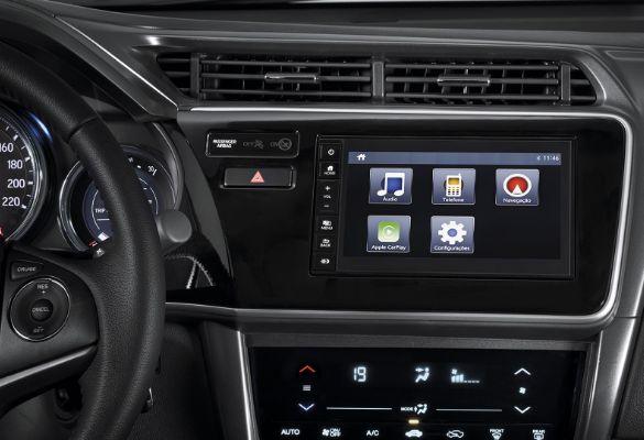 "Multimida de 7"" multi-touchscreen com interface para smartphones"
